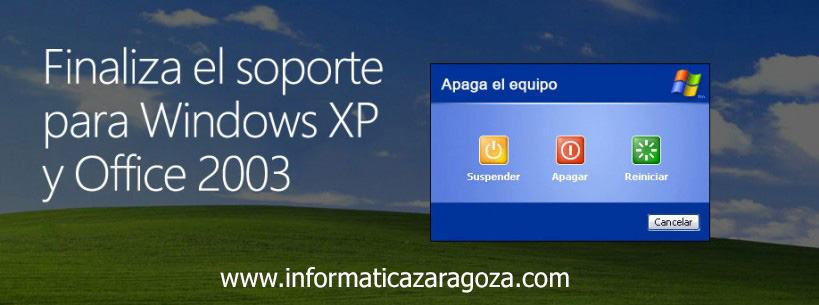 Finaliza el Soporte para Windows XP